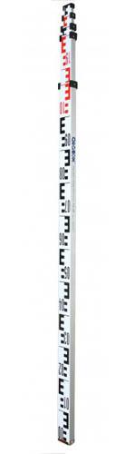 Рейка нивелирная телескопическая