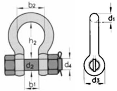 скоба омегообразная G 2130
